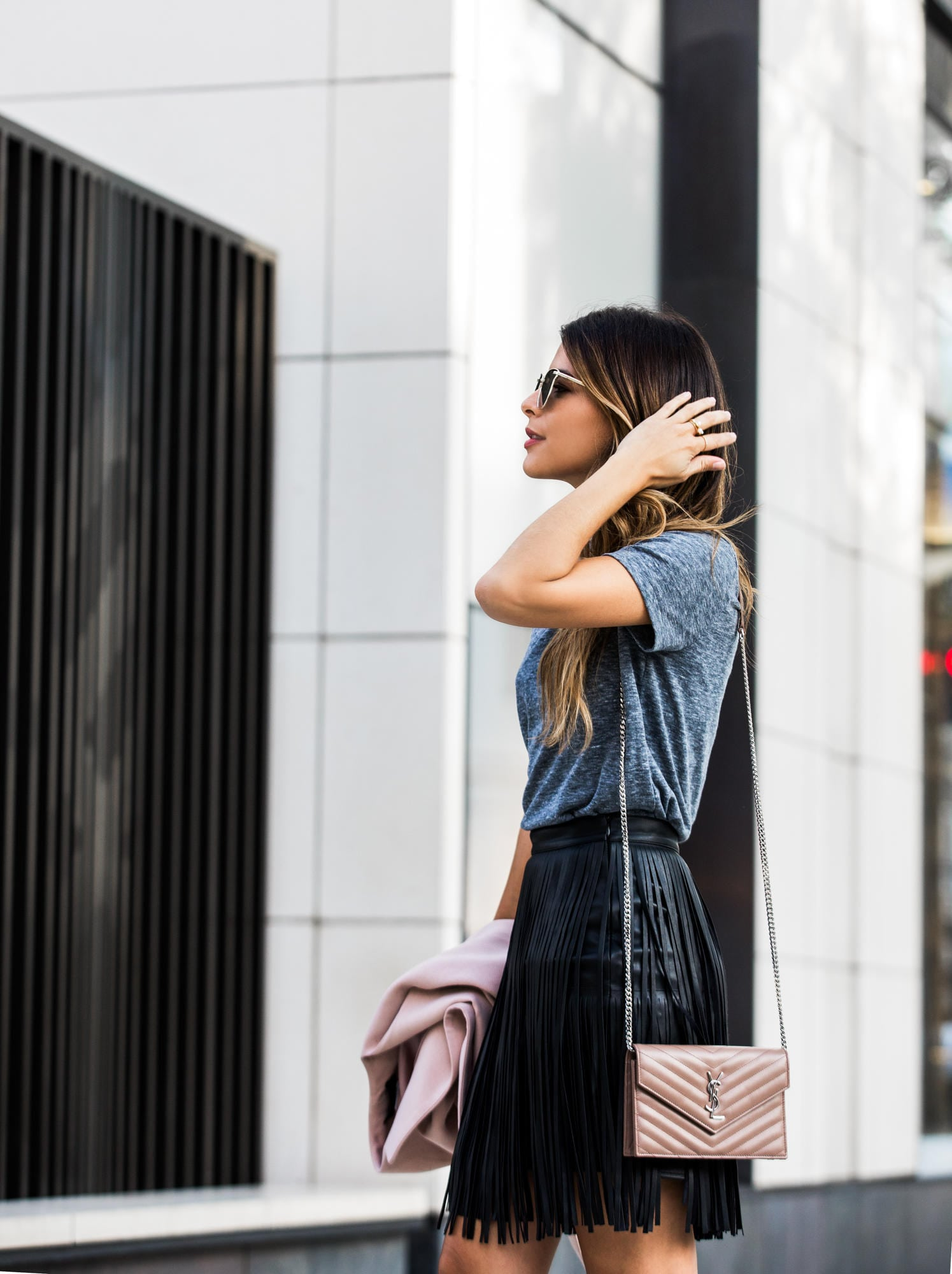 5 Must-Have Leather Skirts for Fall | The Girl From Panama @pamhetlinger