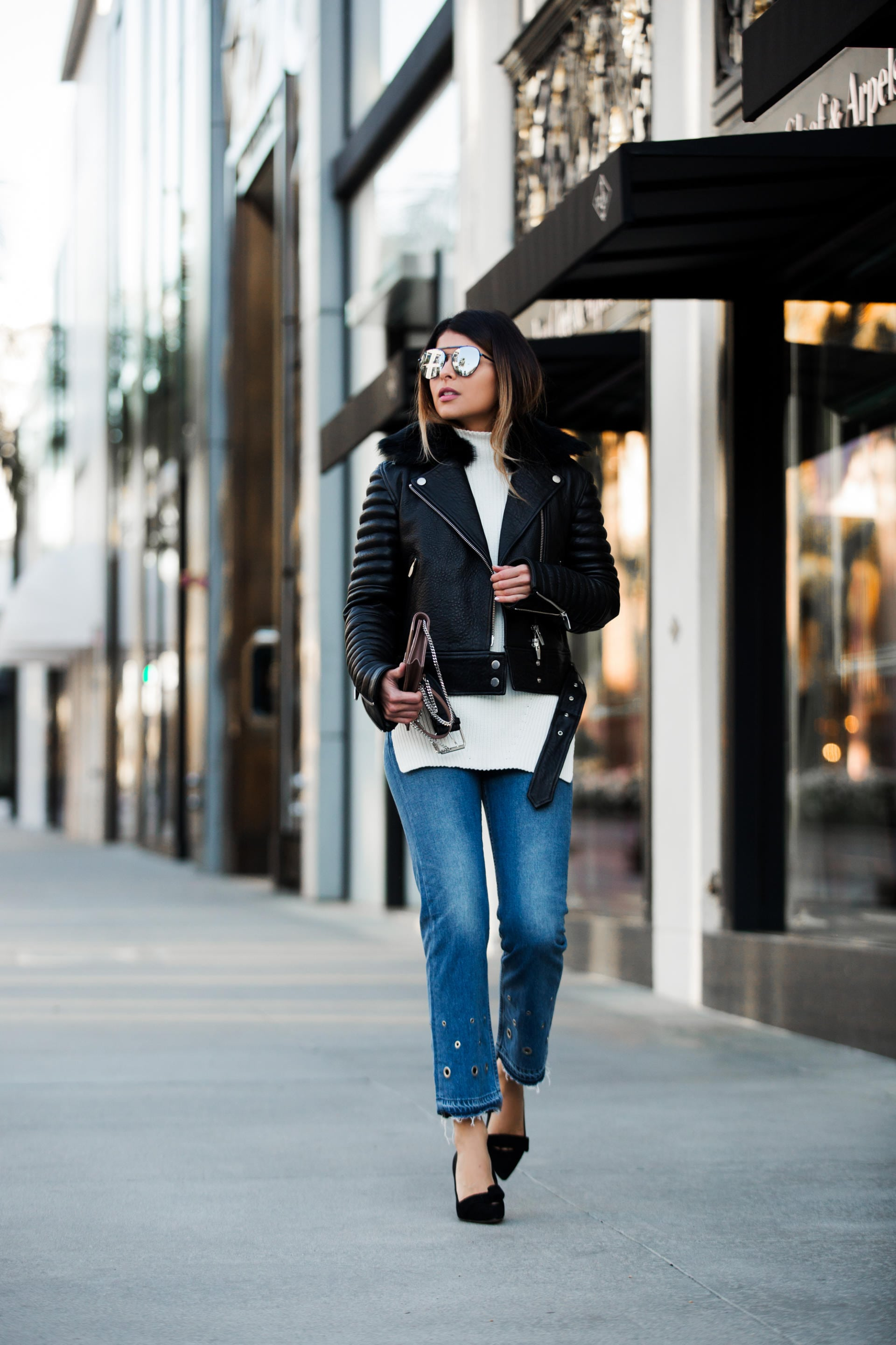 Top 5 Leather Jackets for Winter - The Girl from Panama