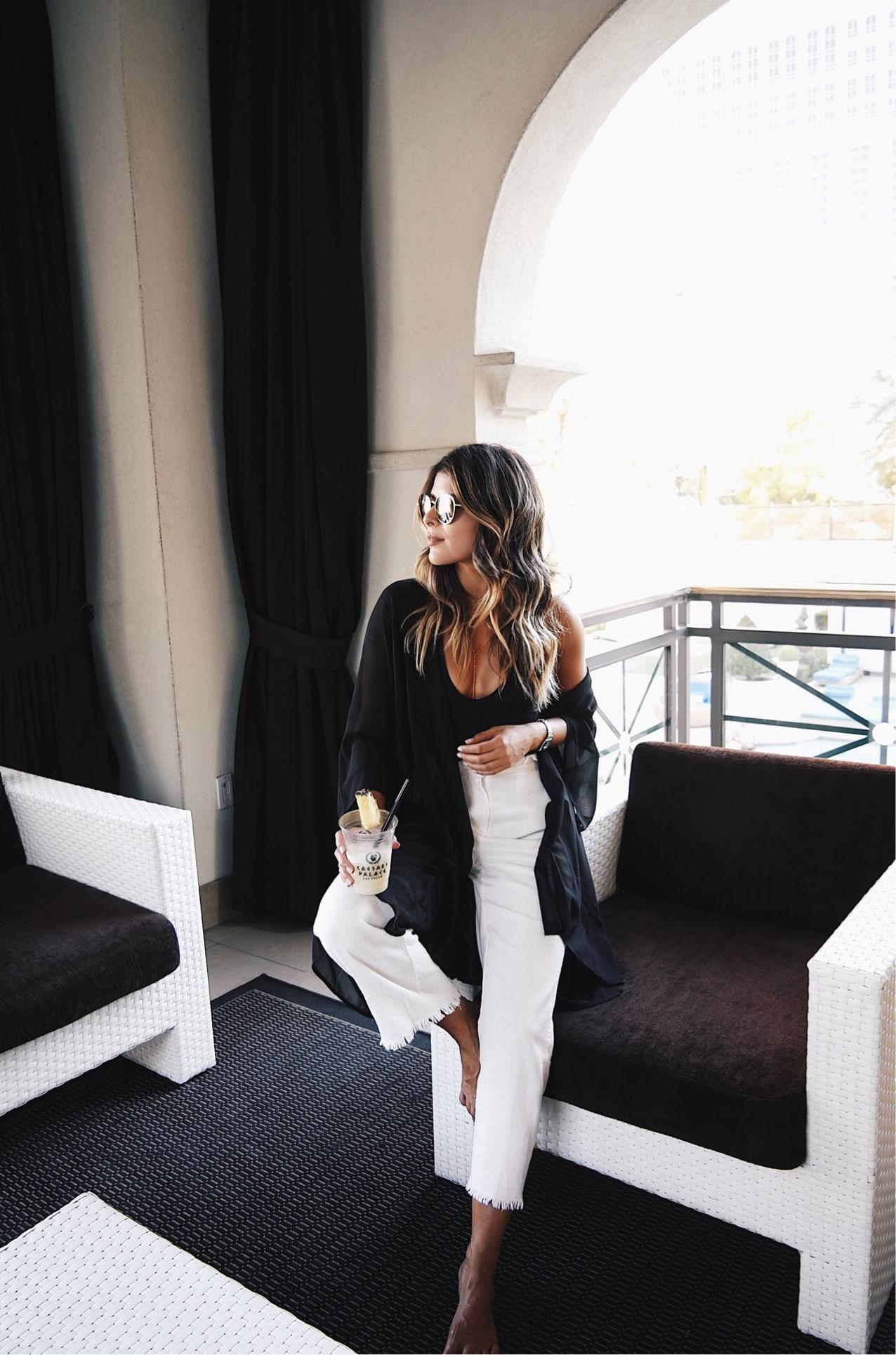 5 ways to look stylish in las Vegas // The Girl From Panama @pamhetlinger