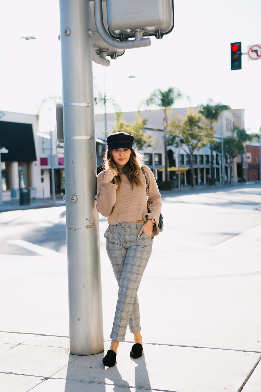 Styling Plaid Pants 2 Ways - The Girl From Panama