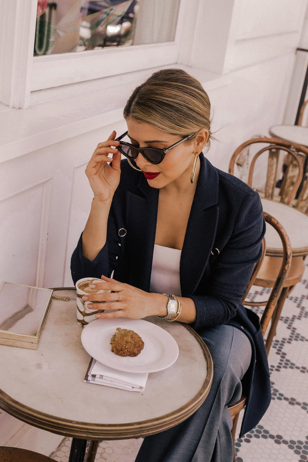 How to Wear the Power Suit , St. Johns Blazer and trousers, Pam Hetlinger outfits | TheGirlFromPanama.com