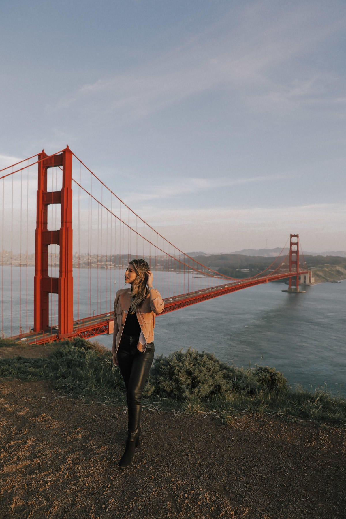 The Golden Gate Bridge at Hawk Hill in San Francisco | TheGirlFromPanama.com
