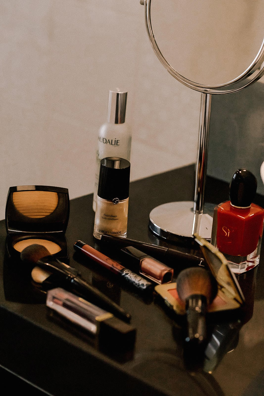 Tips to Get Ready Faster, Giorgio Armani Makeup, Pam Hetlinger Morning Routine | TheGirlFromPanama.com