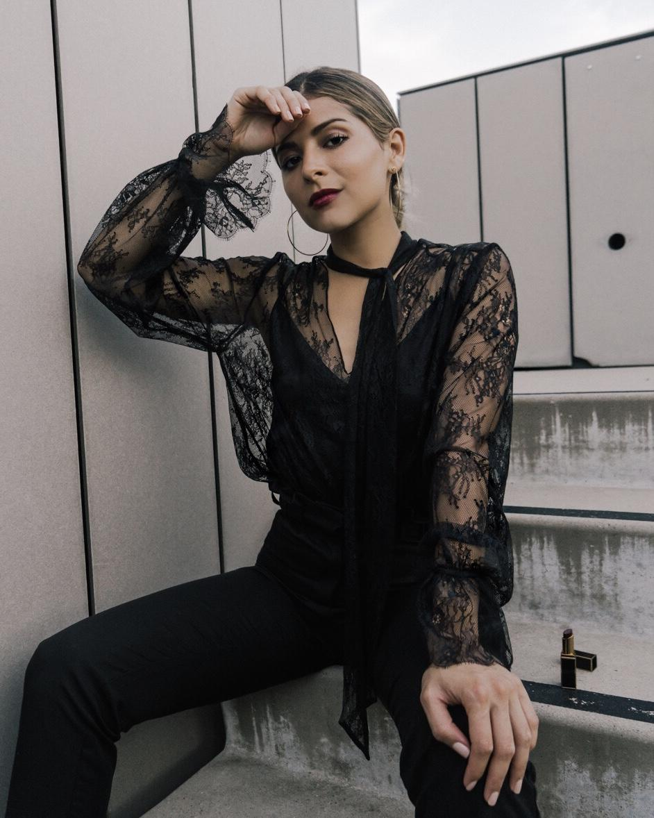 What to Buy From the Sephora VIB Sale 2018 by Pam Hetlinger | TheGirlFromPanama.com | Black Lace Top, Tom Ford Lipstick, Tom Ford Lipstick London Suede